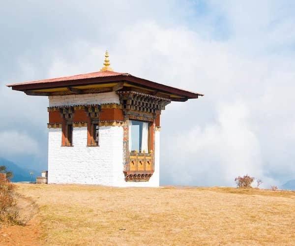 bhutan hut