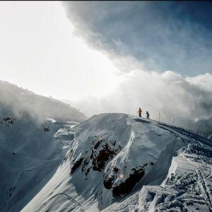 Heli-skiing in North America