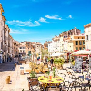 July and August in Provence