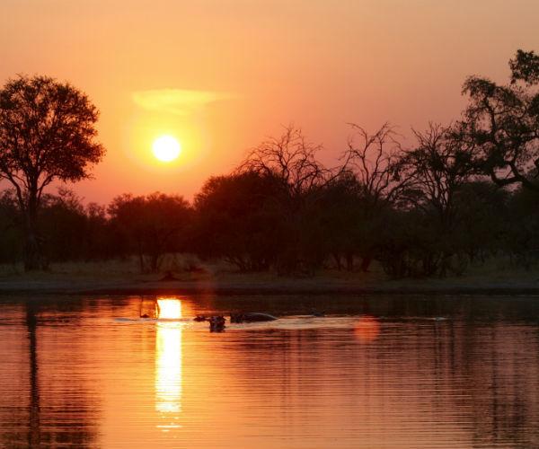 Zimbabwe sunset Boundless Journeys