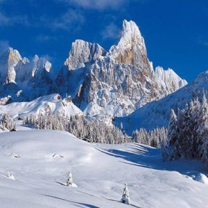 The world's top resorts for scenic skiing