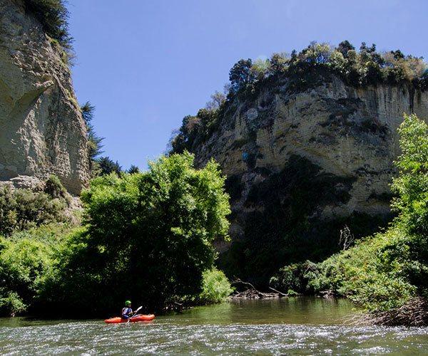 Kayaking the Rangitikei River