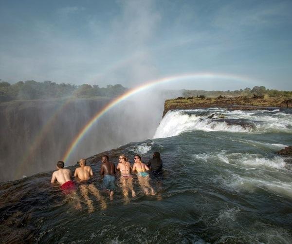 Devil's Pool at Victoria Falls, Zambia