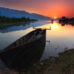 A Greek lake vacation