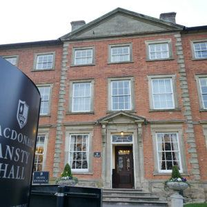 Short stay: Ansty Hall, Ansty, Near Coventry, UK