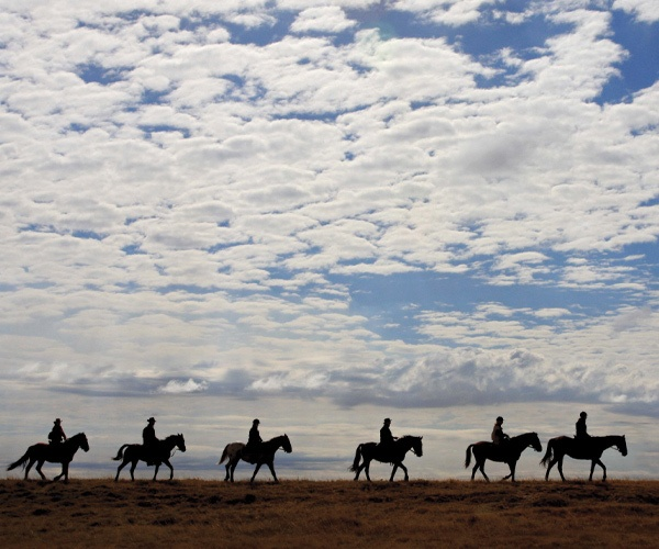 Travelling by horseback takes you on roads less travelled