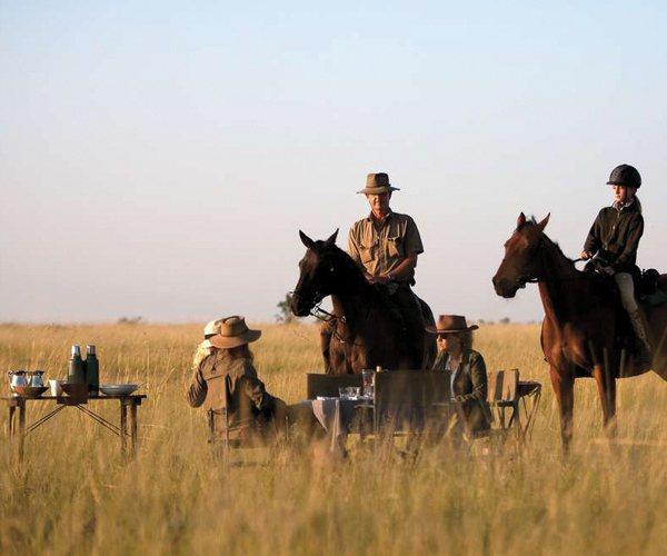 A horseback safari is a one of a kind adventure