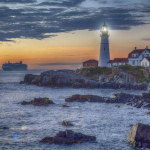 Photograph of the week: Portland Head Lighthouse, Cape Elizabeth, Casco Bay, Maine, USA