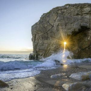 Photograph of the week: Sunset on the Côte Sauvage, France