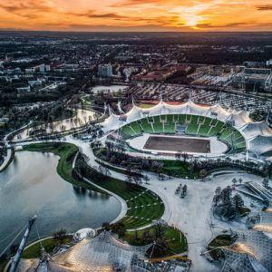 Photograph of the week: Munich Olympic Stadium, Germany