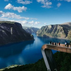 Photograph of the week: Stegastein viewpoint, Norway
