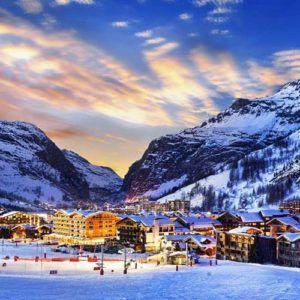 Top 5 ski resorts in the Alps
