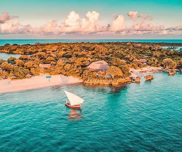 Dhow Sailing Mozambique