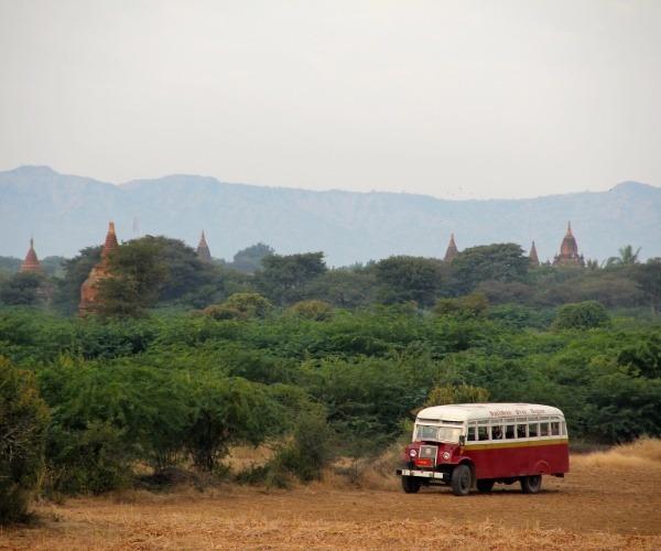 Myanmar Pegona Bus