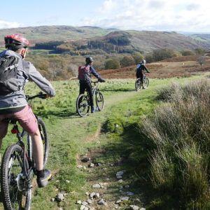 Mountain biking in the Lake District: the Kentmere '3 rivers' trail