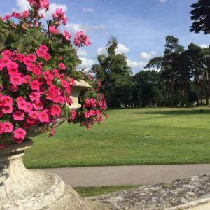Combining golf with gourmet cuisine at Stoke Park, Buckinghamshire, UK
