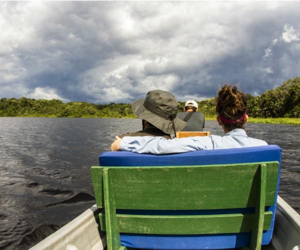 Canoeing- Napo Wildlife Center