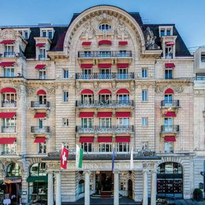 Short stay: Lausanne Palace, Lausanne, Switzerland