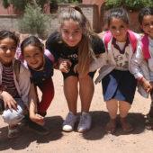 Luxury family volunteer vacation Morocco