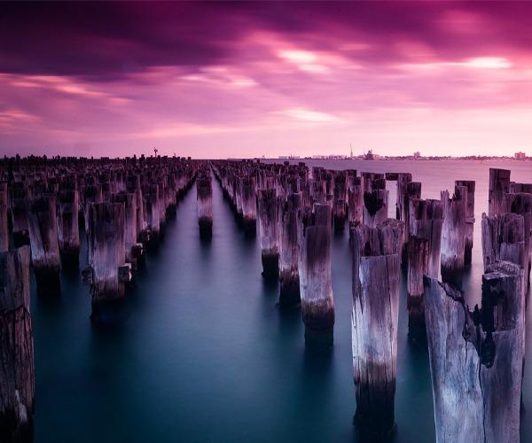 Photo of the week: Princes Pier, Port Melbourne, Australia