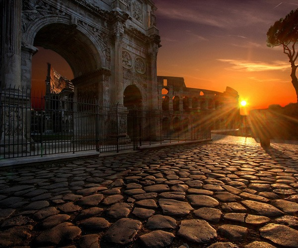 Photo of the Week: Arch of Constantine, Colosseum, Rome, Italy