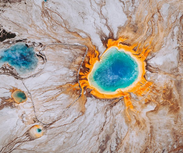 Photo of the Week: Grand Prismatic Spring, USA