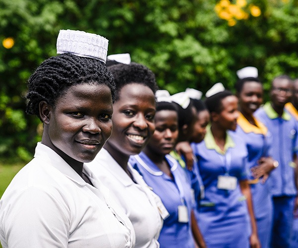 Women of Bwindi Community Hospital, excursion from Gorilla Forest Camp