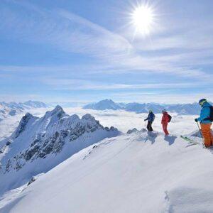 Top 5 Alpine snow-sure resorts
