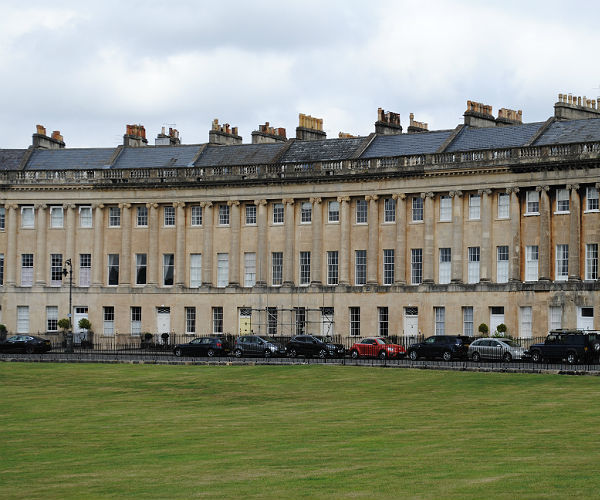 The Royal Crescent by Patricia Bech