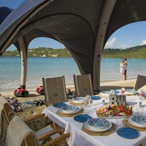 5 perfect beach barbecue destinations to enjoy on a luxury yacht charter