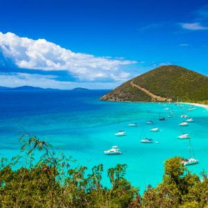 Sailing adventures on a luxury yacht charter in the Caribbean
