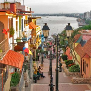 Staying in the largest city of Ecuador