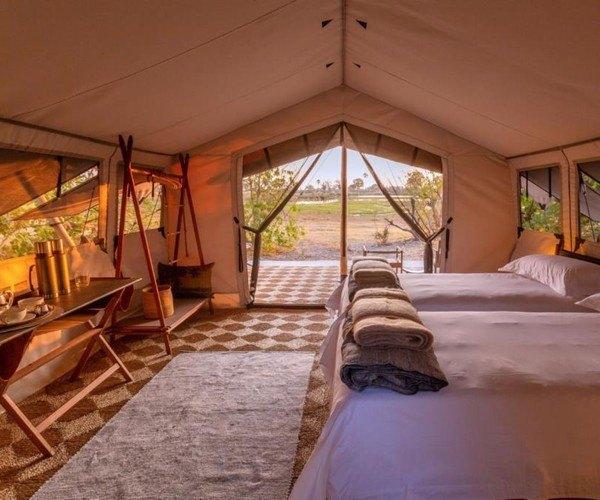 Camp Maru Tent Interior