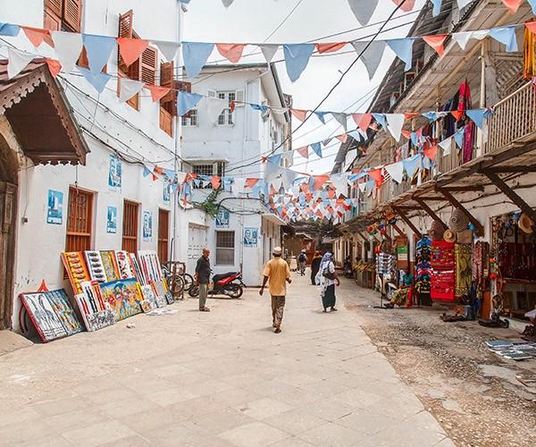 Street in Stonetown, Zanzibar