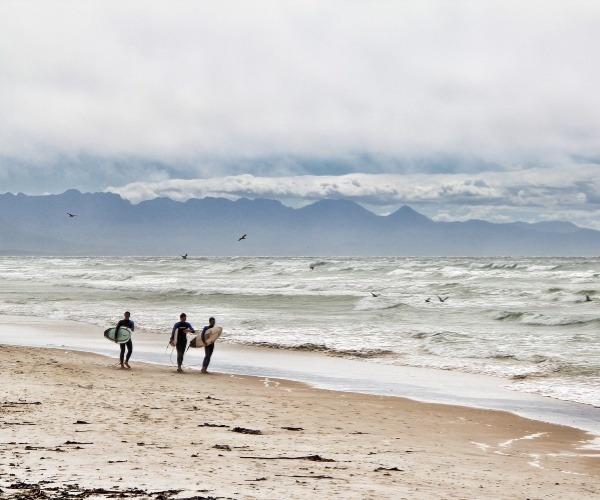 surfer-Jeffrey Bay SA
