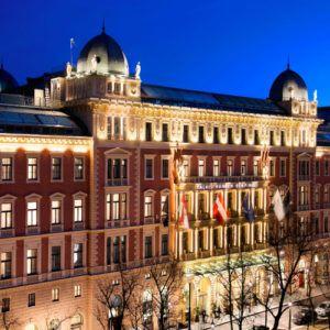 Top 5 luxury hotels in Vienna
