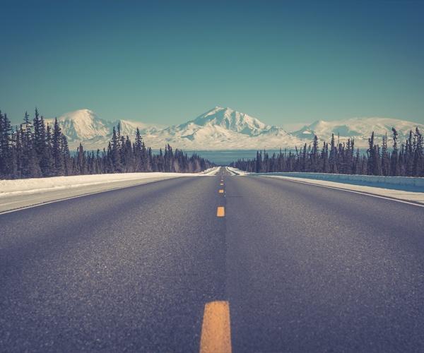 Alaska Highway 1, Glenallen, USA