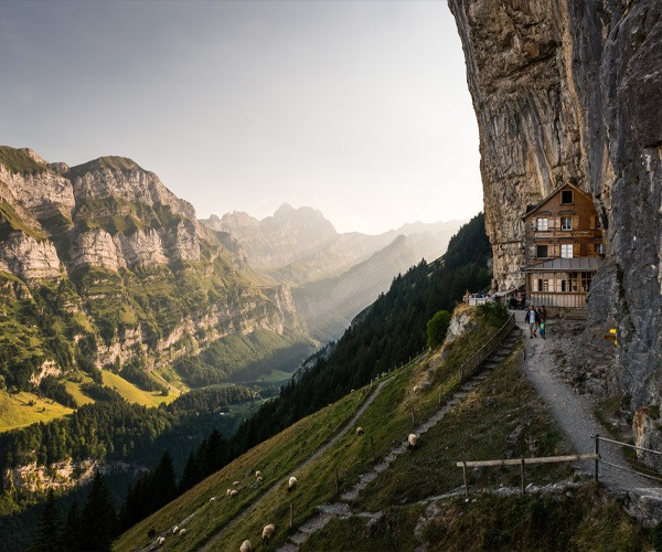 Berggasthaus Aescher Wildkirchli, Weissbad, Switzerland