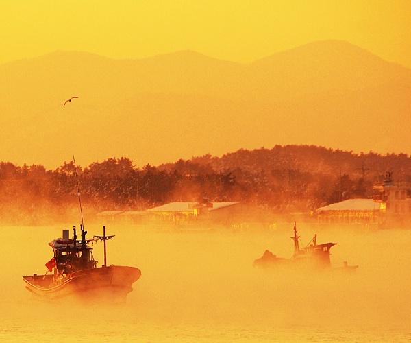 Sunrise, Sun Mu, Gangneung, South Korea