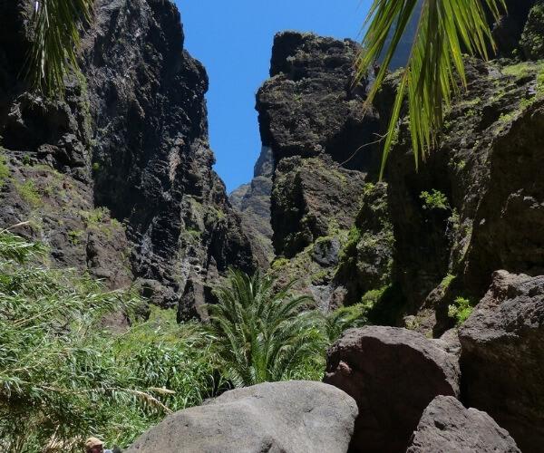 Barranco de Masca in Tenerife