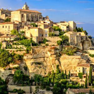 April to September in Provence
