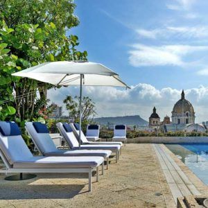 The top luxury stays in Cartagena de Indias, Colombia