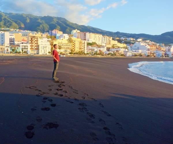Beach in Santa Cruz de La Palma