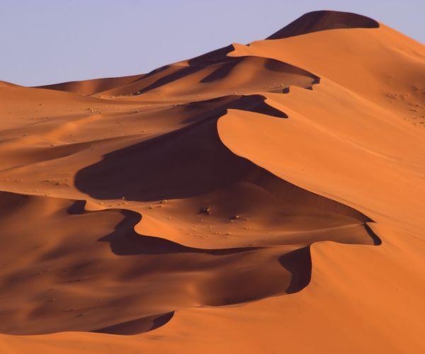 Climb the red dunes at Sossusvlei