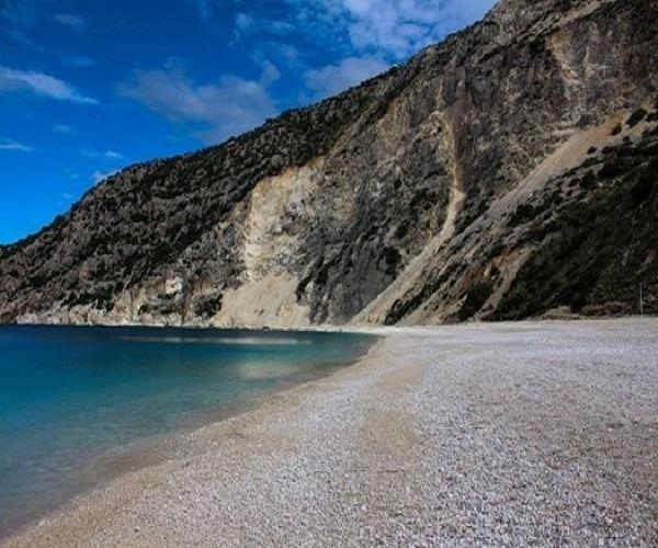 Stunning Myrtos Beach remains Kefalonia's crown jewel