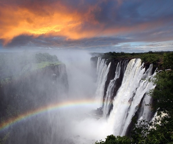 Victoria Falls Can be easily reached from the Chobe area