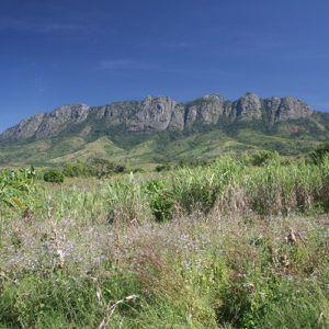 Malawi's Zomba town and plateau