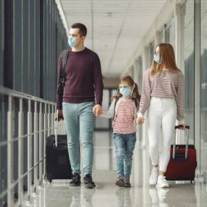 Face masks at airports