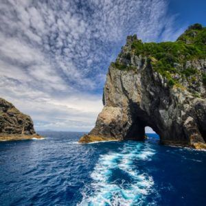 Hole in the rock NZ