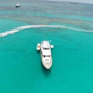 Lazy winter days in the Caribbean with luxury charter yacht Far Niente